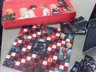 Death Note Board Game by gina2595