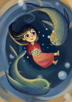 Saoirse - Song of the Sea by lIvanalDoganl