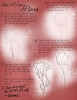 Roses Tutorial by tipsycakes
