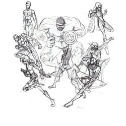 Avengers Assembled (WIP) by Kaowas