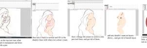 how i do my flash girls by kinkei