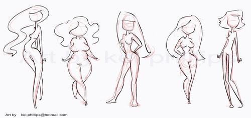 body shapes by kei by kinkei