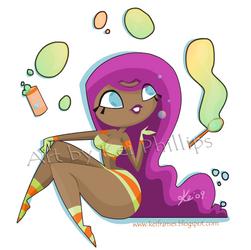 Bubbles and stripes by kinkei