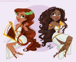 Circe and Calypso by kinkei