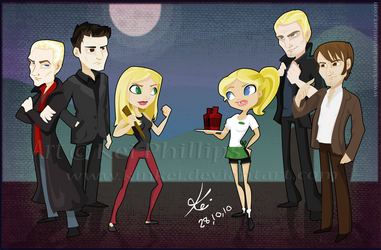 Buffy vs true blood by kinkei