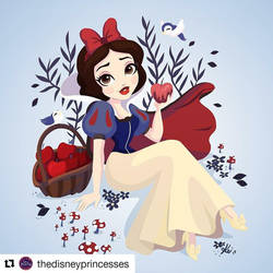 Snow White 80th by kinkei