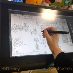 Disney work... by kinkei