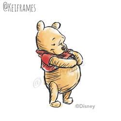 Winnie the Pooh by kinkei