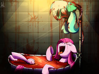 Another blood bath [re-draw] by IIIWhiteLieIII