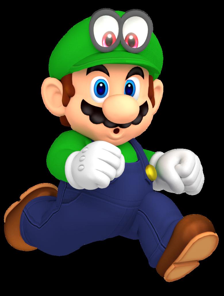 Luigi and Mario coloring page Free Printable