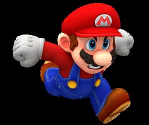 Odyssey Mario Running Like Sonic by Nintega-Dario