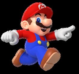 Mario Run Point Render by Nintega-Dario