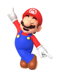 Mario Anime Dance Render by Nintega-Dario