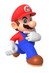 Mario for the Ladies Render by Nintega-Dario