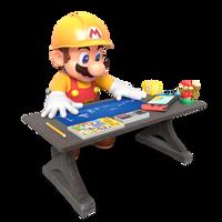 Super Mario Maker 2 BluePrints Render by Nintega-Dario