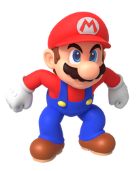 Mario Mad Render by Nintega-Dario