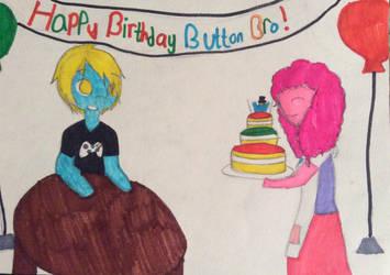 ButtonBro's Birthday! (Jaden's) by Deviantcupcake01