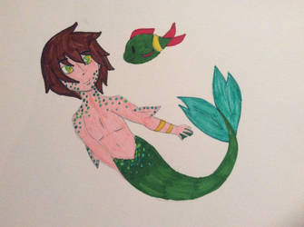 Swimming with the fishies by Deviantcupcake01