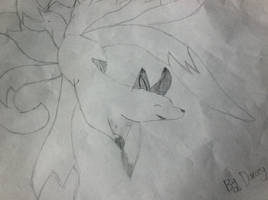 Nine-Tailed Fox by DarceyMew