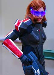 Mass Effect - Shepard Cosplay by OscarG1