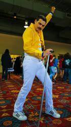 Queen - Freddie Mercury Cosplay by OscarG1