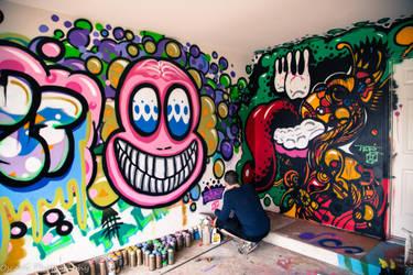 Walls of Graffiti by OscarG1