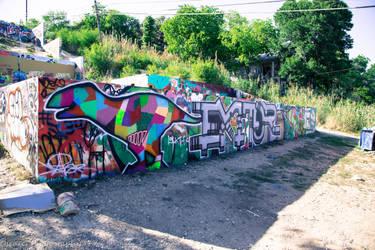 Austin Graffiti Park by OscarG1