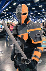 Comicpalooza 2014 - Deathstroke by OscarG1