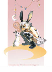 Luna : Two forms by DiaXYZ