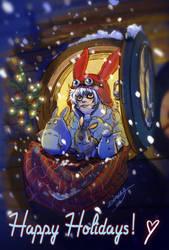 Happy Holidays 2015 by DiaXYZ