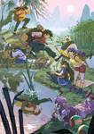 Ranma 1/2: training trip by DiaXYZ