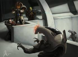 Mass Effect 2 by Fuzzysocks102