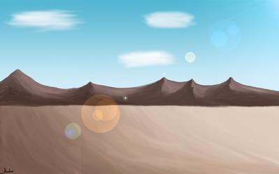 Landscape by MickelHiwatari