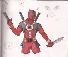 Deadpool Remake by kidro198