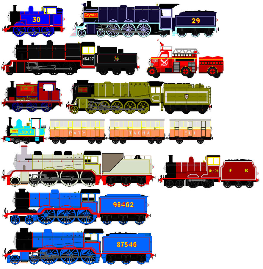 All 10 Thomas And Friends Animated Free Sprites By Jamesfan1991 On