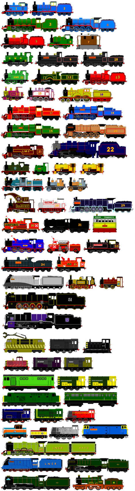 Thomas And Friends Animated Characters 6 By Jamesfan1991 On Deviantart