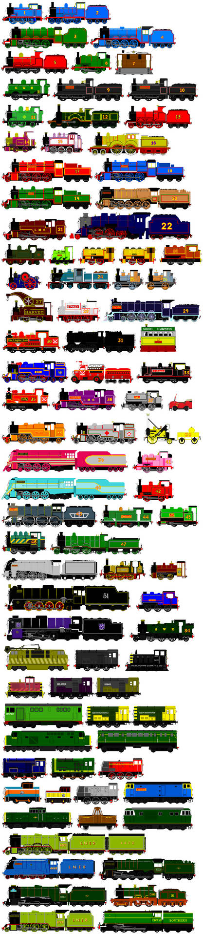 Thomas And Friends Animated Characters 11 By Jamesfan1991 On Deviantart