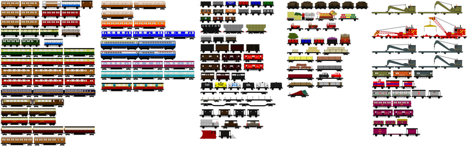 Thomas And Friends Animated Rolling Stock 1 By Jamesfan1991 On