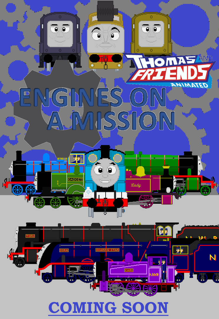 Tandfa Engines On A Mission Poster By Jamesfan1991 On Deviantart