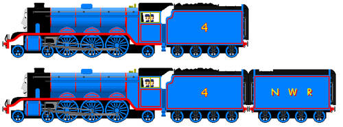 New and Improved Tenders for Gordon by JamesFan1991