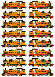 Nia the African Tank Engine (Full Sprite Sheet) by JamesFan1991