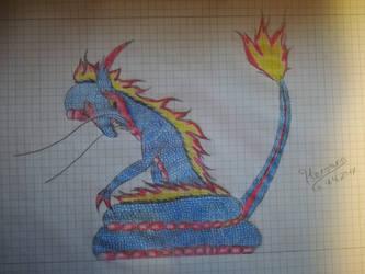 Dragon by Heroann