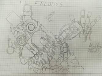 Molten Freddy by Heroann
