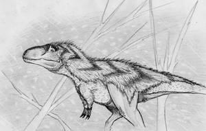 Nanuqsaurus: Polar Bear Tyrant by Fragillimus335