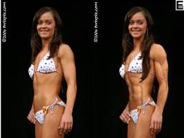 Muscular Model 22 Comparison by edinaus