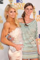 Muscular Paris Hilton by edinaus