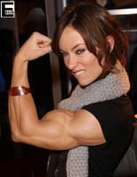Muscular Olivia Wild by edinaus