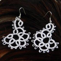 Tatted earrings by manewnya