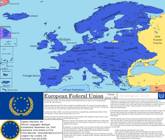 (FOH) The European Federal Union, 2110 CE by Dinotrakker