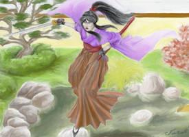 The Lady Samourai by Midori-ossan